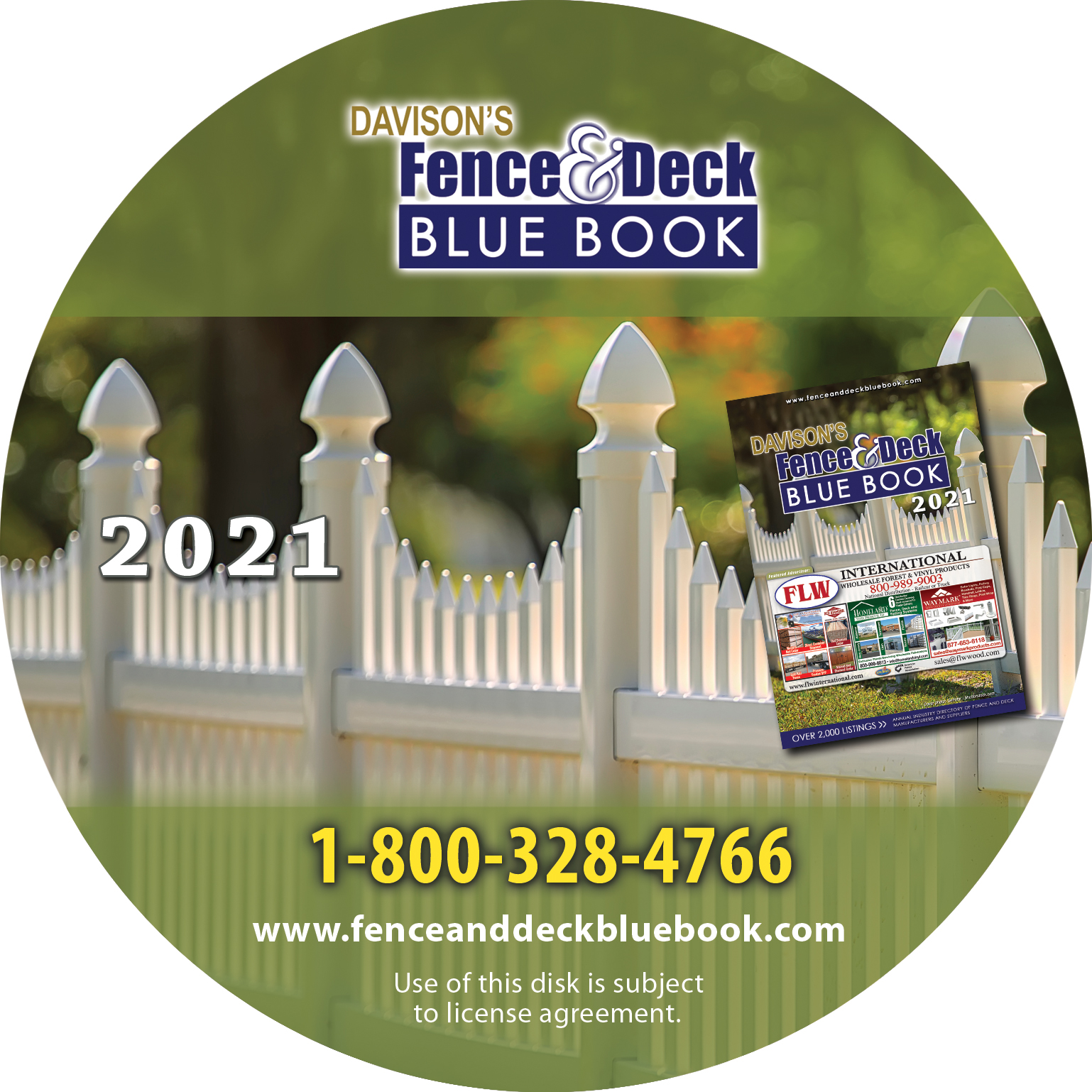 Davison's Fence Blue Book